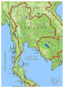 Click To View A Larger & More Detailed Map of Thailand